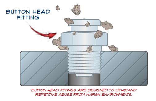 Heavy Duty Button Head Fittings
