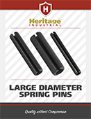 Heritage Industrial Large Diameter Spring Pins
