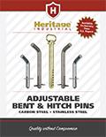 Heritage Industrial Adjustable Bent & Hitch Pins