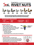 Sherex Rivet Nuts & Installation Tools
