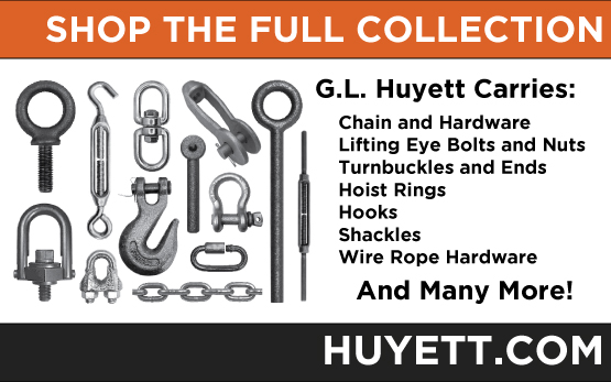 Shop the full collection of lifting hardware on Huyettdotcom