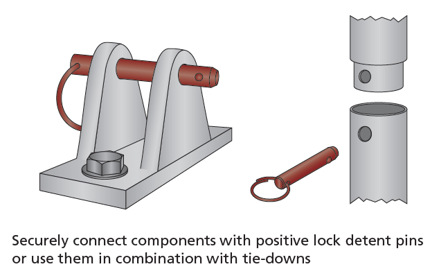 Positive Lock Detent Pins