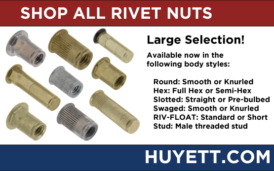 Shop rivet nuts on Huyettdotcom