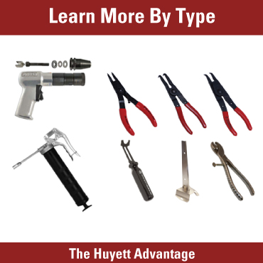 Learn more by tool type