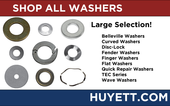 Shop washers on Huyettdotcom