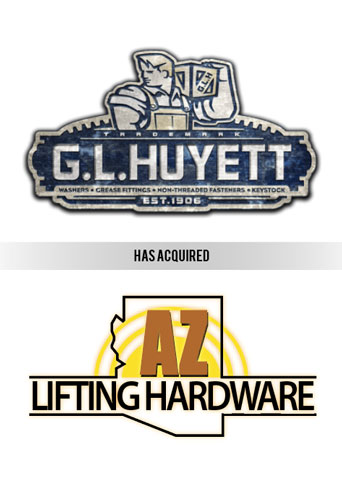 G.L. Huyett acquires AZ Lifting Hardware