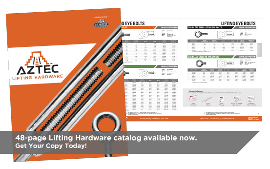 Aztec Lifting Hardware Catalog | G.L. Huyett