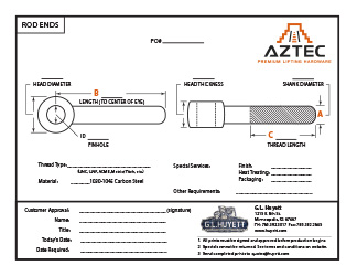 Rod End | Aztec Lifting Hardware