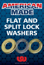 American Made Wrought Washer® Flat and Split Lock Washers