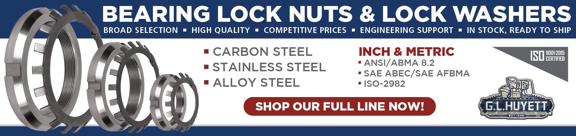 Bearing Lock Nuts