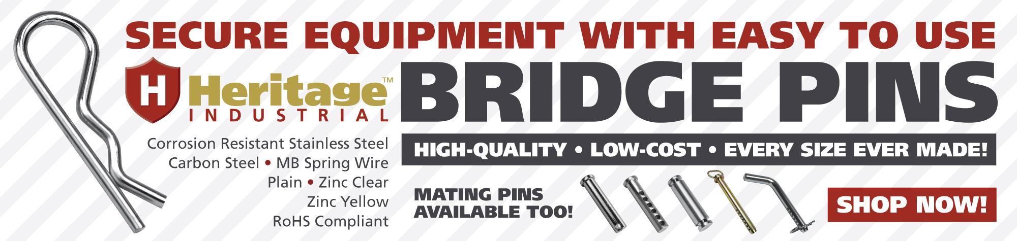 HI Bridge Pins