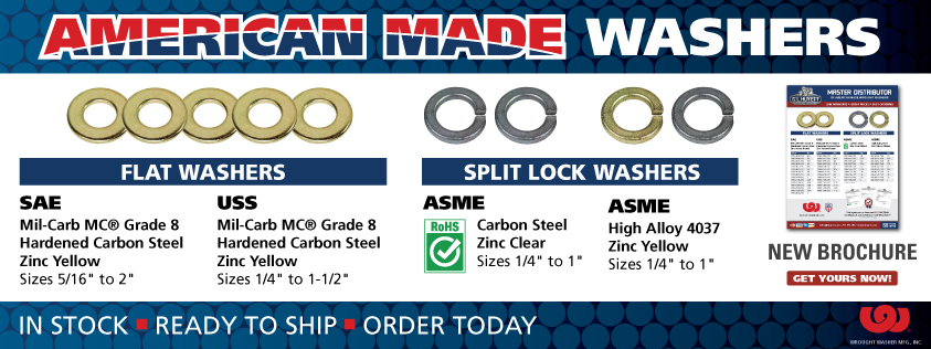 American Made Wrought Washers
