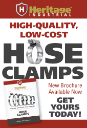 New Heritage Industrial Hose Clamp Brochure Available Now