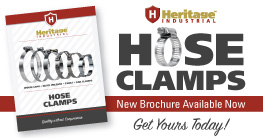 Heritage Industrial Hose Clamps - New Brochure Available Now