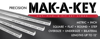 MAK-A-KEY: Precision Cut, File, and Fit Key Stock