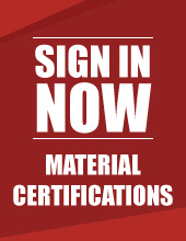 Sign in Now | FREE Certs of Conformance
