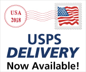 USPS Delivery is now available!