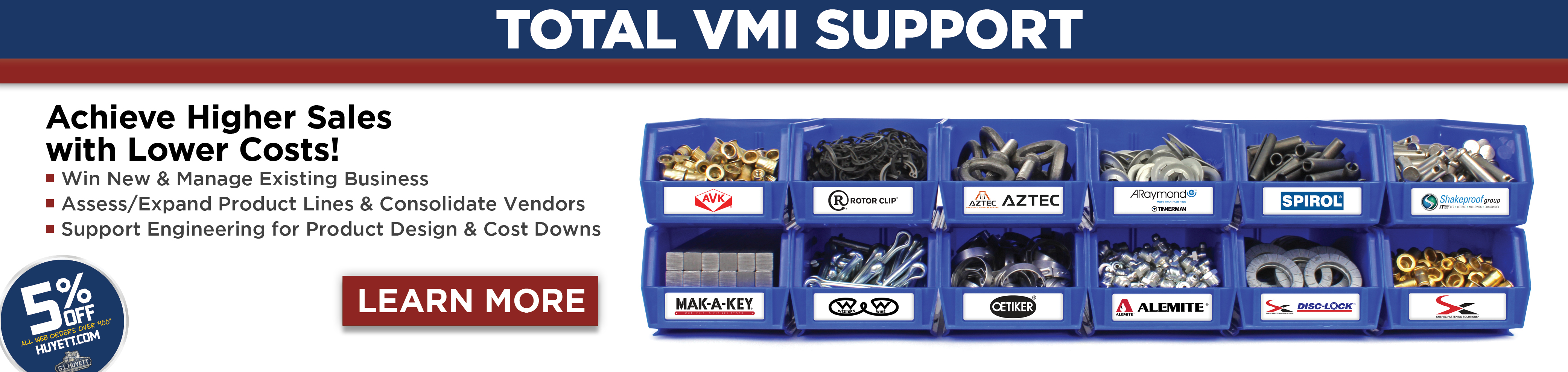 Total VMI Support